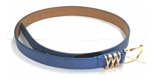 Imagen 1 de 1 de Cinturon Dama Le Sak Hl- Azul