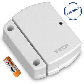 Kit 05 Sensor Magnético S/ Fio Ecp Intruder Portas E Janelas