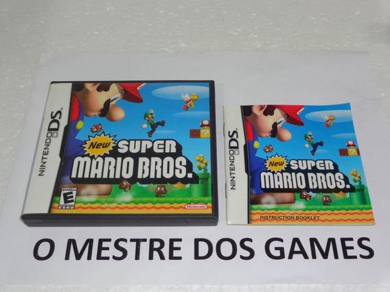 Somente A Caixa E Manual Do New Super Mario Bros. Ds Confira