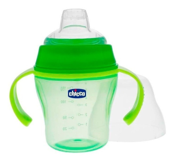 Chicco Vaso Soft Cup 6m+ Verde 6823537