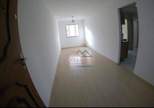 Imagem 1 de 16 de Apartamento À Venda, 56 M² Por R$ 165.000,00 - Conjunto Residencial José Bonifácio - São Paulo/sp - Ap0405