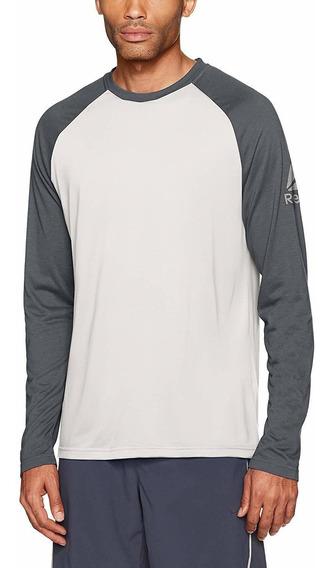 Camiseta De Béisbol De Manga Larga Reebok Para Hombre Suprem