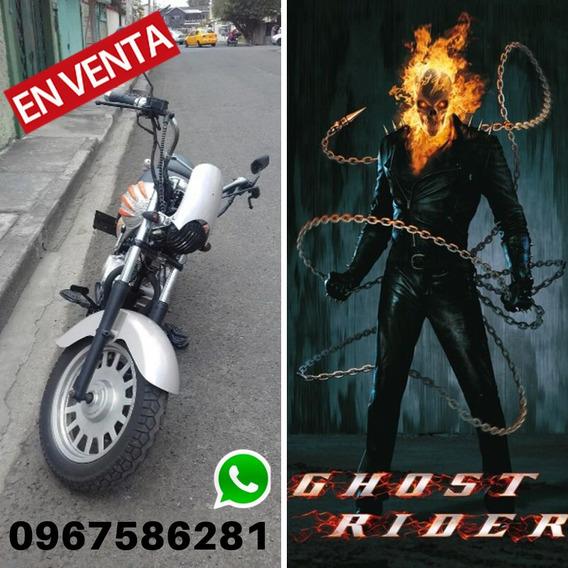 Moto Customizada 200 Cc Ghost Rider El Vengador Fantasma