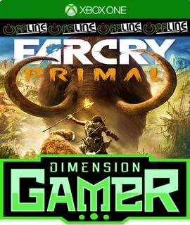 Far Cry Primal - Xbox One - No Codigo - Off-line