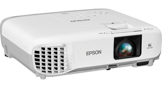 Projetor Epson Powerlite S39 (svga 800 X 600, Hdmi, Vga, Víd
