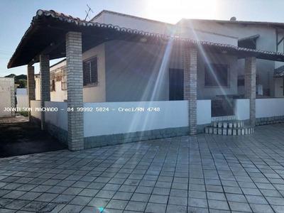 Casa De Praia Para Venda Em Parnamirim, Praia De Cotovelo - Casa Em Via Pública Com Frente Pro Mar, 4 Dormitórios, 1 Suíte, 4 Banheiros, 6 Vagas - Cas0886-casa Em Cotovelo