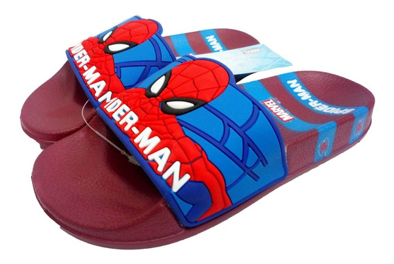 Ojotas Spiderman Marvel Con Faja Super Livianas