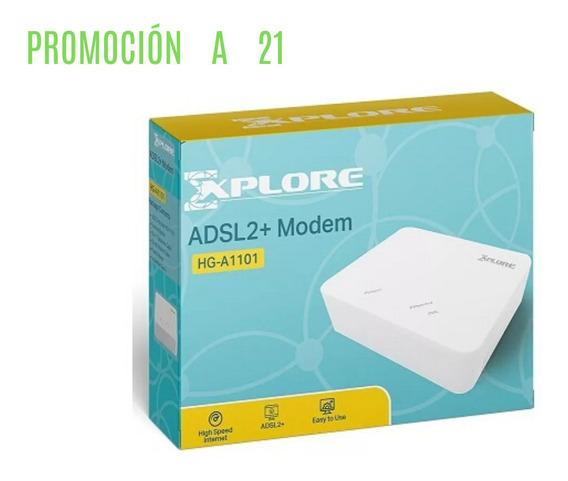 Modem Adsl2 Hg-a1101 Explore Banda Ancha Internet Promocion