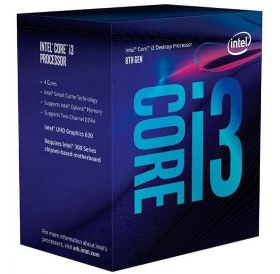 Processador Intel Core I3-8100 3.6ghz 6mb Cache Lga1151 Box