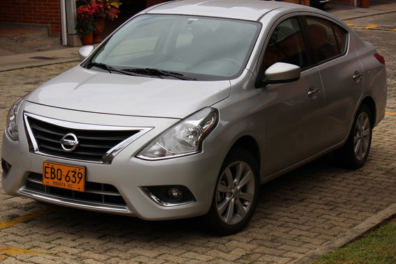 Automovil Nissan Versa Advance Automatico Modelo 2018