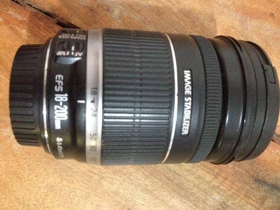 Lente Canon 18-200