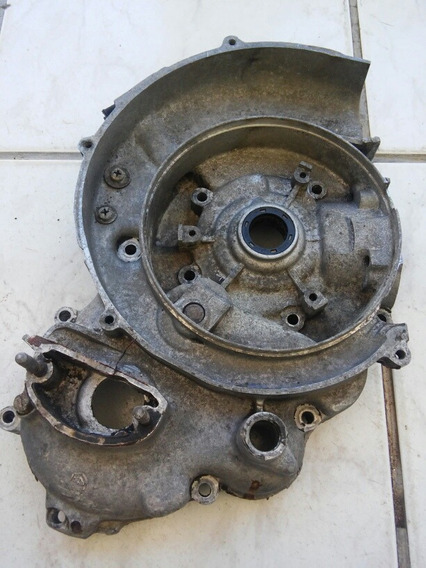 Rara Carcaça Externa Motor Moto Antiga Piaggio Vespa Px-200