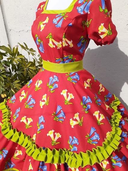 Vestido Huasa L Nuevo
