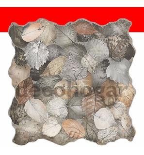 Revestimiento De Piso Tipo Hojas Porcelanato Irati X Pieza
