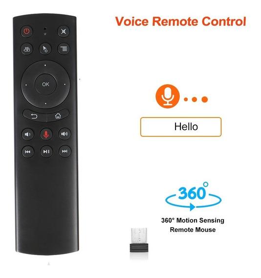 Controle Inteligente Mouse Comando De Voz Tv Box Smart Tv