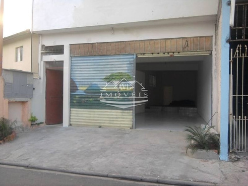 Imagem 1 de 5 de Salão Para Locação No Bairro Jardim Fernandes, 100 M - 553