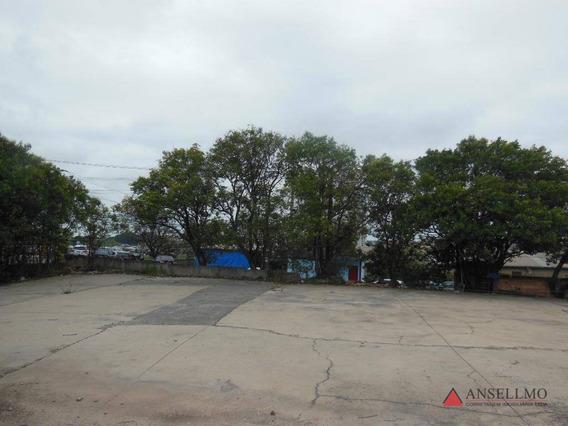 Terreno Para Alugar, 4800 M² Por R$ 38.000/mês - Planalto - São Bernardo Do Campo/sp - Te0091