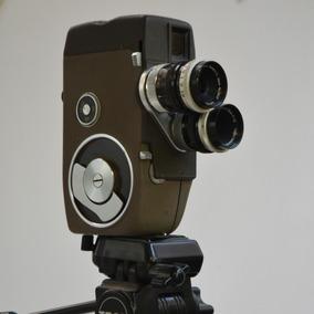 Câmera De Cinema 8mm +3 Lentes De Cinema + Acessórios