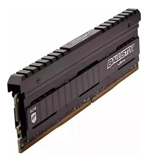 Memoria Ram Pc Ddr4 Crucial Ballistix 8gb 3200mhz For Gamer