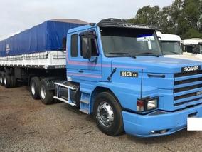 Scania 113 360 Ano 98 Com Carreta Graneleiro Ano 2008