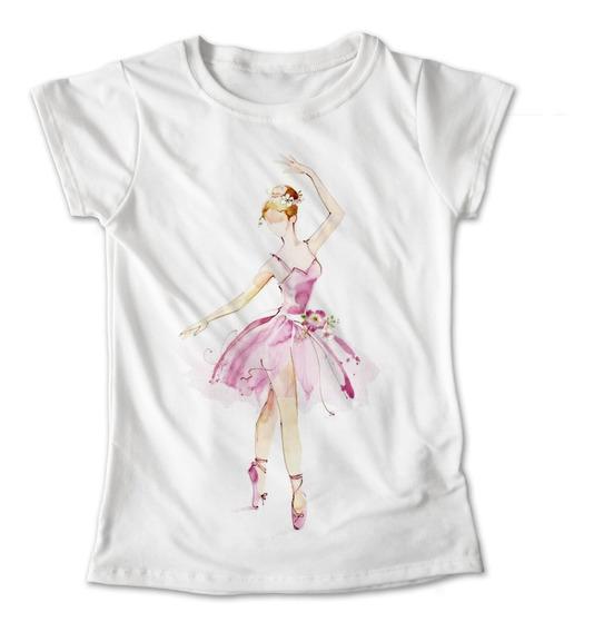 Blusa Bailarina Ballet Rosa Colores Playera Estampado #284