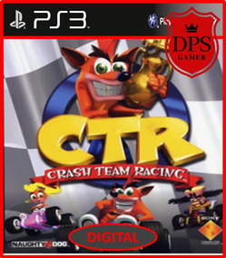 Ctr Crash Team Racing Ps3 Psn Mídia Digital