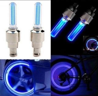 Luces Led Para Neumáticos De Autos Motos Y Bicicletas
