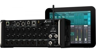 Mesa Som Behringer Xr18 Mixer Digital 18 Canais Xr 18air Usb