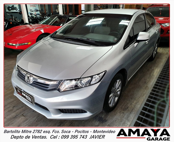 Amaya Garage Honda Civic Lxs Año 2012 Impecable!!!