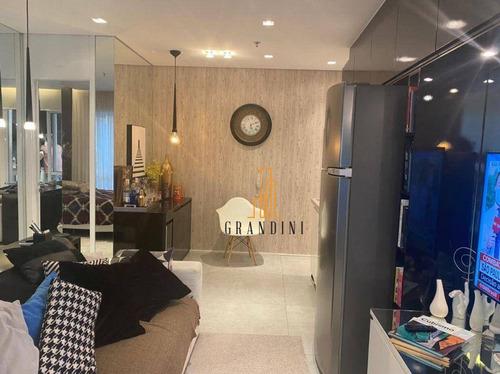 Imagem 1 de 30 de Flat Com 1 Dormitório Para Alugar, 42 M² Por R$ 2.900,00/mês - Centro - São Bernardo Do Campo/sp - Fl0038