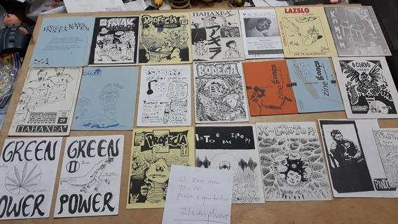 Fanzines De Quadrinhos E Poesia Anos 90 E 2000. Formato A5