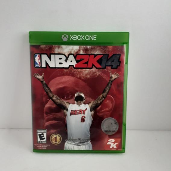 Jogo Nba 2k14 Xbox One Semi Novo Testado