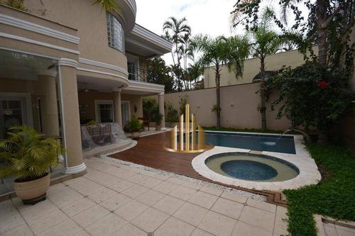 Casa Com 4 Dormitórios À Venda, 640 M² Por R$ 3.800.000,00 - Alphaville Residencial 2 - Barueri/sp - Ca1920