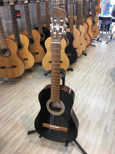 Imagen 1 de 5 de Fonseca 10 Guitarra Criolla Mini Negra Brillo