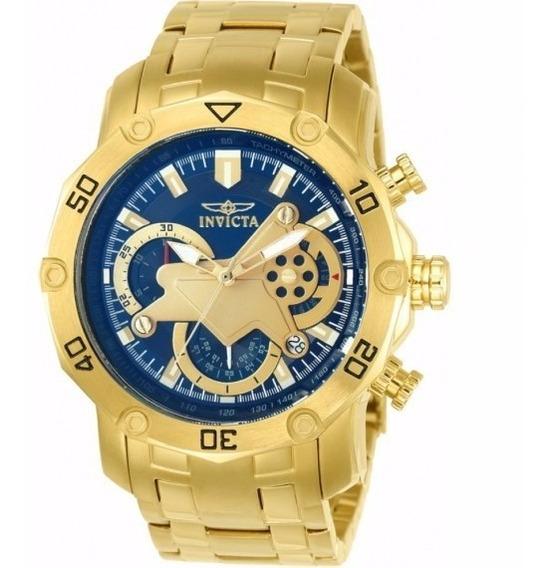 Relógio Invicta Pro Diver 22765 - Ouro 18k,