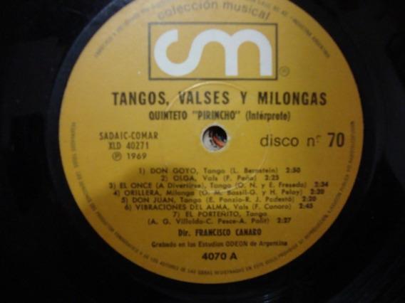 Sin Tapa Disco Tangos Valses Y Milongas