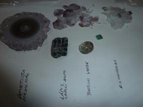 Lote 5 Pedras Semi Preciosas Para Joias Coleção Pechinchas