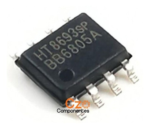 Ci Ht8693sp Original - Ht8693 Sp - Sop8 Smd - Frete R$12,00