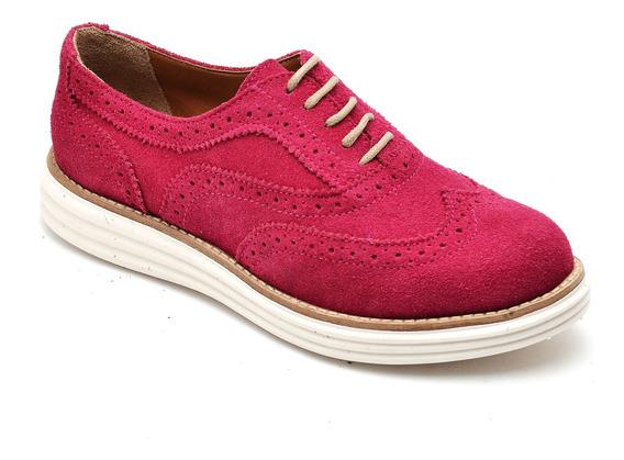 Sapato Feminino, Oxford, Camurça, Promoção, Bestshoes