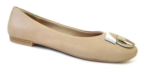 Sapato De Couro Conforto Z9102 - Usaflex (78) - Blush