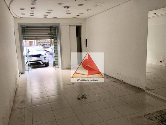 Loja Para Alugar, 65 M² Por R$ 12.000/mês - Moema - São Paulo/sp - Lo0022