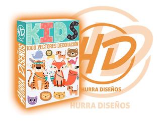 1000 Vectores Y Diseños Infantiles Animales Niños Etc..