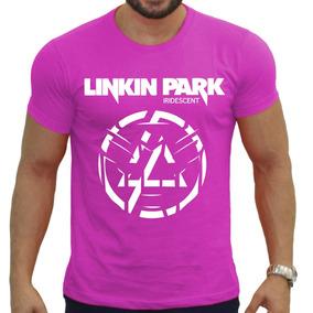 Camisetas Bandas Rock - Camisas Linkin Park Preta