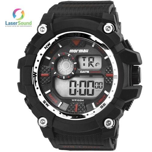 Relógio Mormaii Masculino Mo3530a/8r, C/ Garantia E Nf