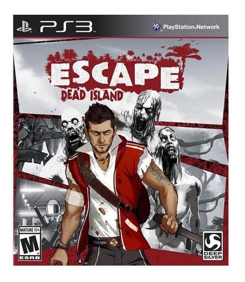 Escape Dead Island - Ps 3 - Mídia Física - Lacrado