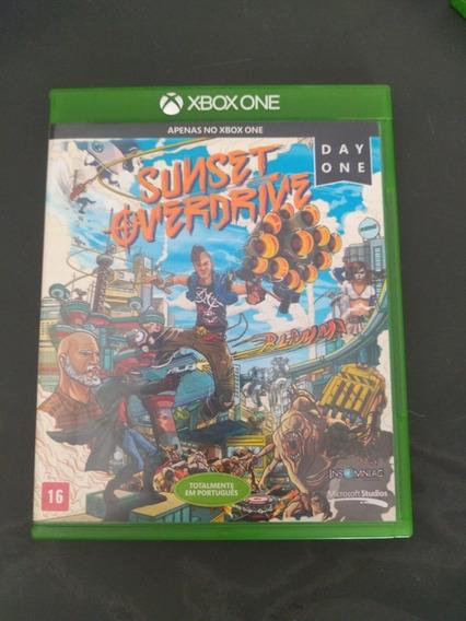Jogo Sunset Overdriver Xbox One Mídia Física