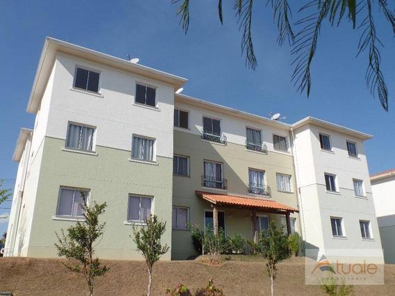 Apartamento Com 3 Dormitórios À Venda, 63 M² Por R$ 231.000 - Villa Flora Hortolandia - Hortolândia/sp - Ap6337