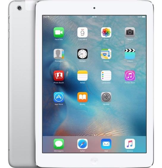 iPad Air 32gb Wi-fi + 4g Tela Retina 9.7 Apple Branco