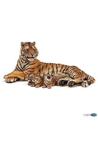 Figura De Reino Animal Salvaje De Papo, Mentira Tigresa