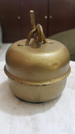 Peso Antigo 1,6kg Ferro P/ Balança Varão Antiga E Decoração